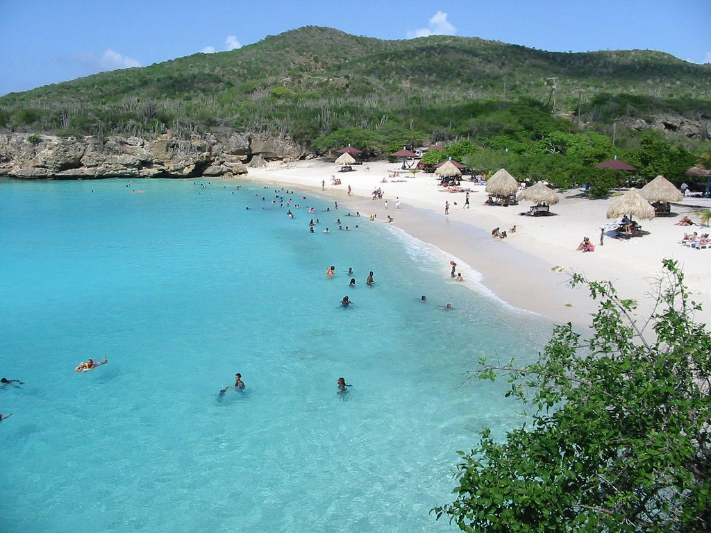 Strand Grote Knip Curacao